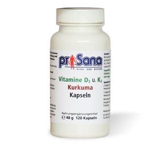 Vitamine + Kurkuma Kapseln